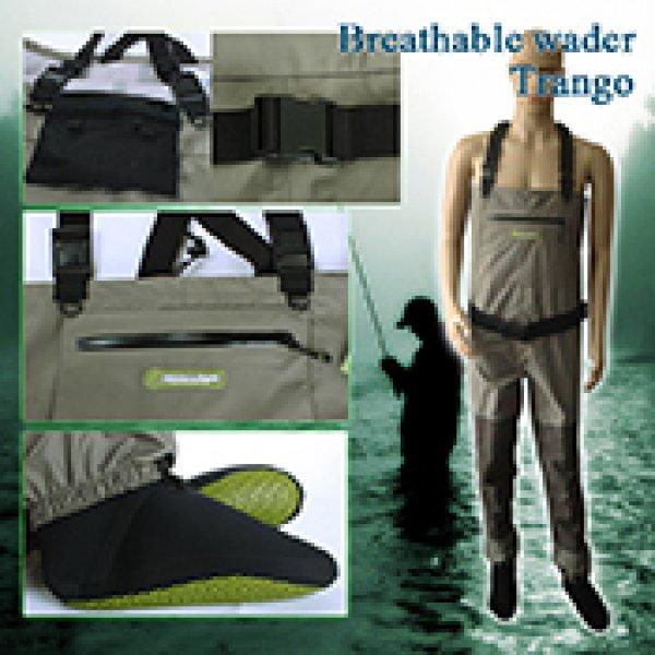 fly fishing breathable wader Trango