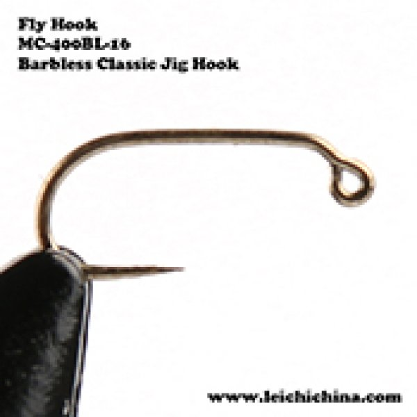 Fly tying hook Barbless Classic Jig Hook MC-400BL