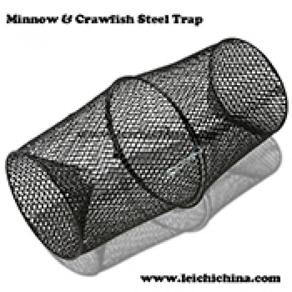 Minnow & Crawfish Steel Trap