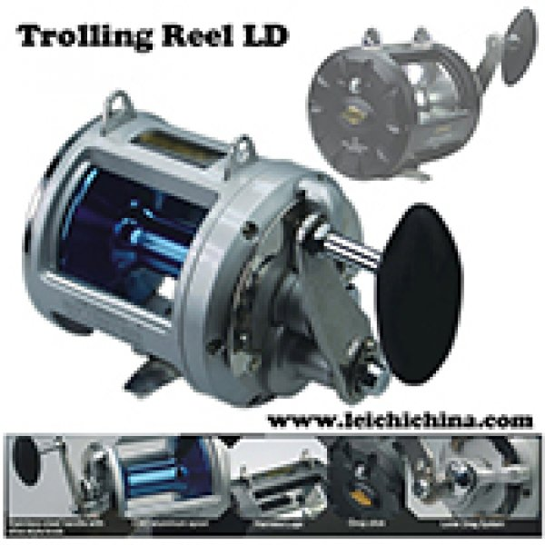 graphite body trolling reel LD