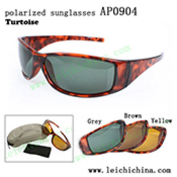 polarized tortoise frame fishing sunglasses AP0904