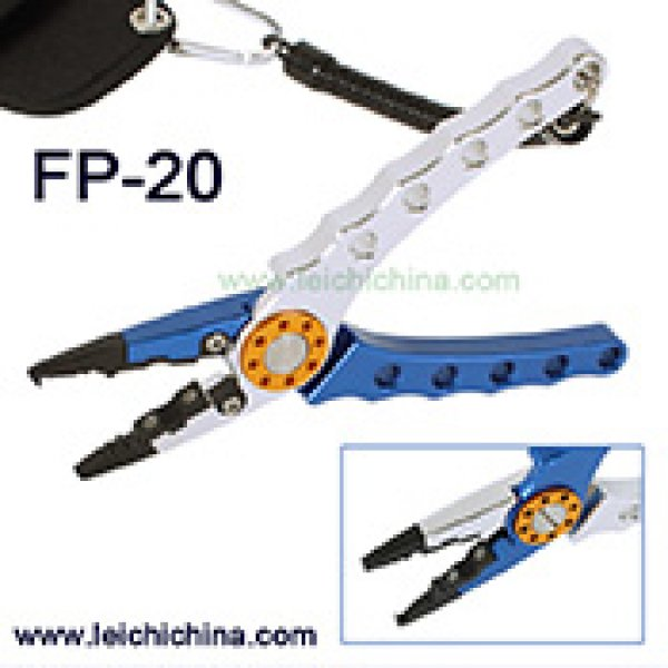 Deluxe Aluminum Fishing Pliers FP-20