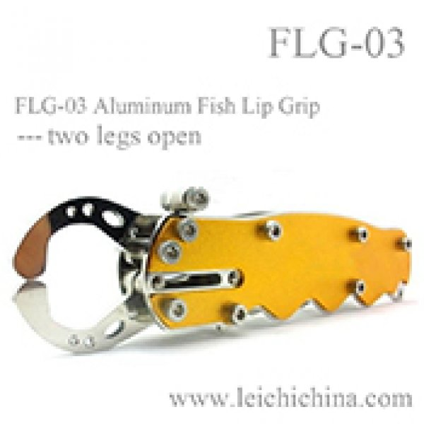 FLG-03 Aluminum Fish Lip Grip---two legs open