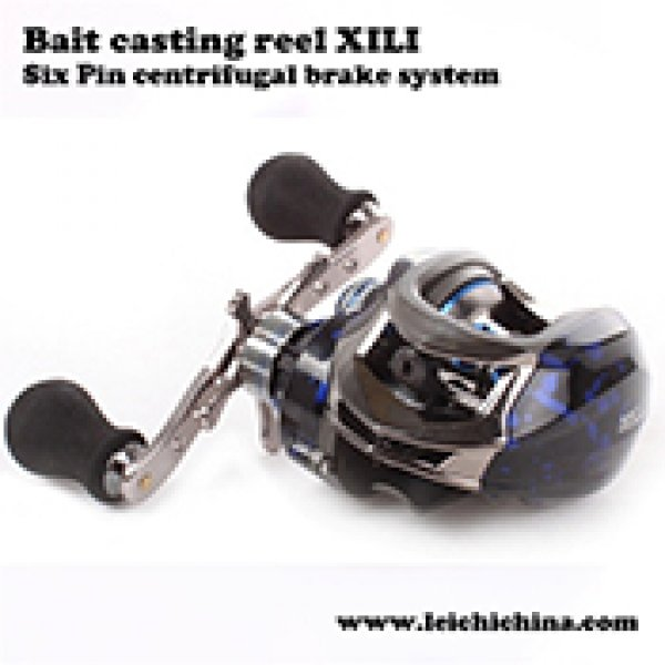 Six Pin centrifugal brake system bait casting reel XILI