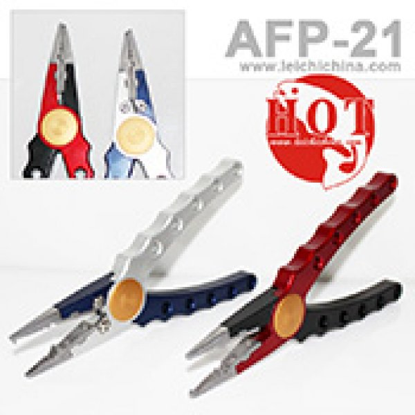 2012 New 100% machine cut aluminium fishing pliers