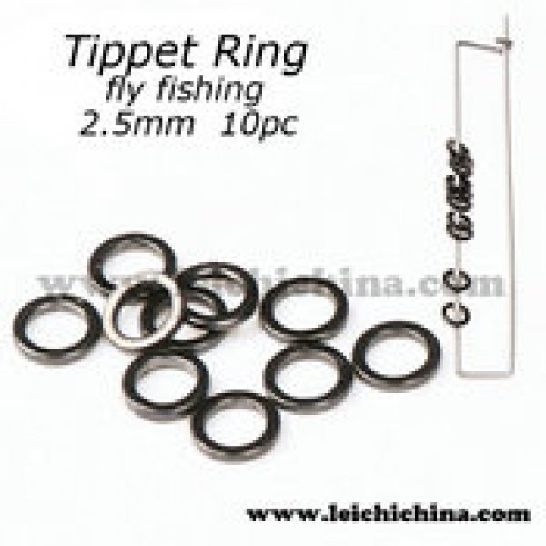 Black Nickel 2.5MM Tippet Ring