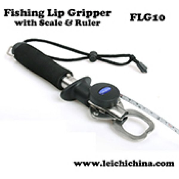 FLG-10 Stainless Steel fishing lip Grip with scale and ruler