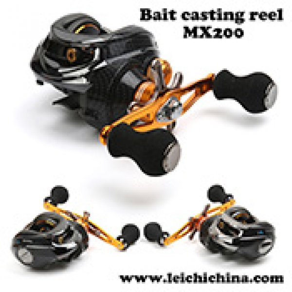 low profile bait casting fishing reel MX200