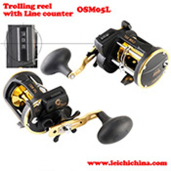 Saltwater line counter trolling reel OSM 05L