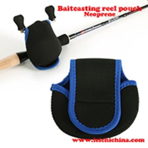 Neoprene baitcasting reel pouch