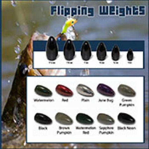 tungsten fishing flipping weight