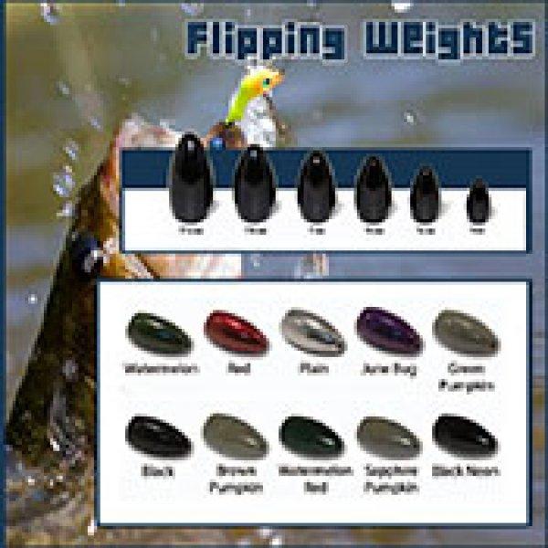 tungsten fishing flipping weight