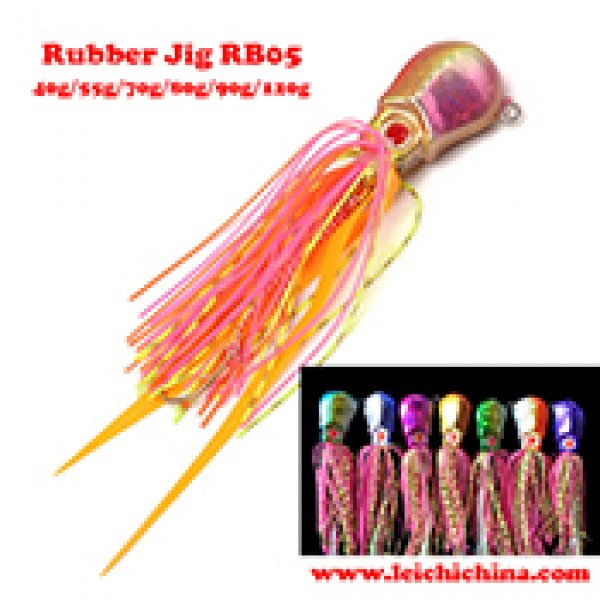 fishing rubber jig RB05