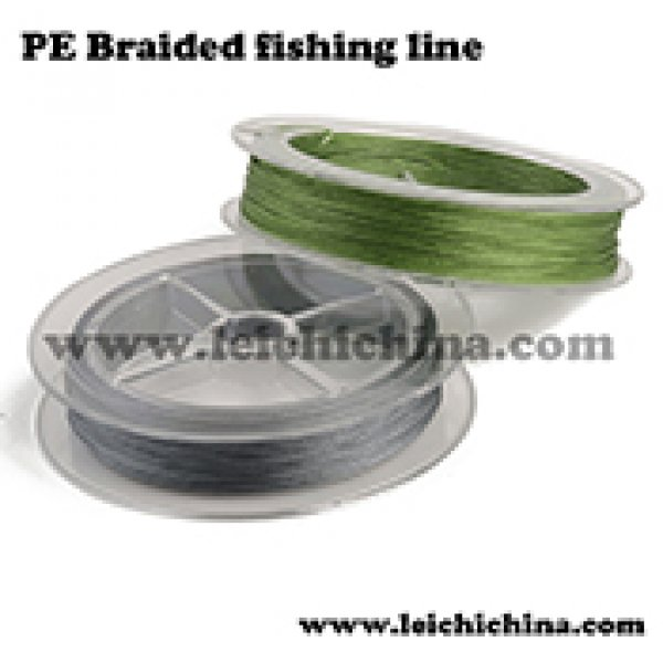 PE braided fishing line