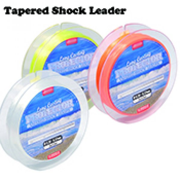 tapered shock leader