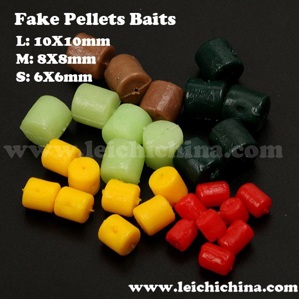 carp fishing fake pellets baits