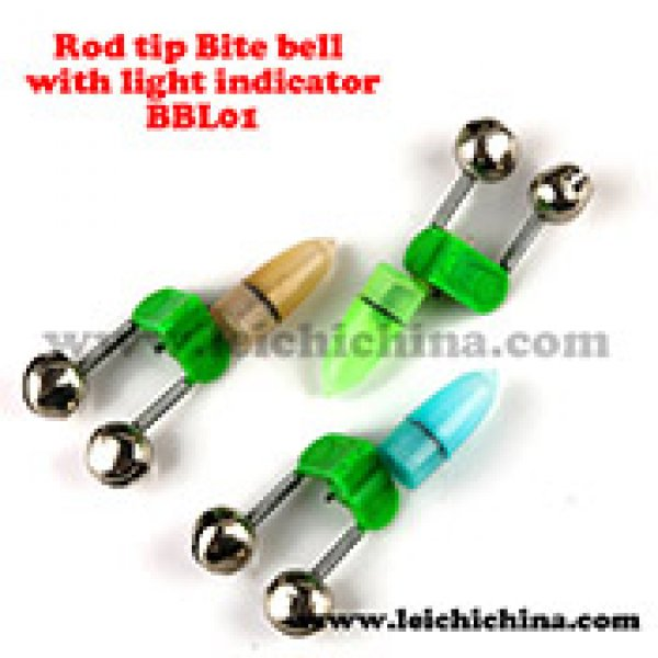 fishing rod bite bell with light indicator BBL01