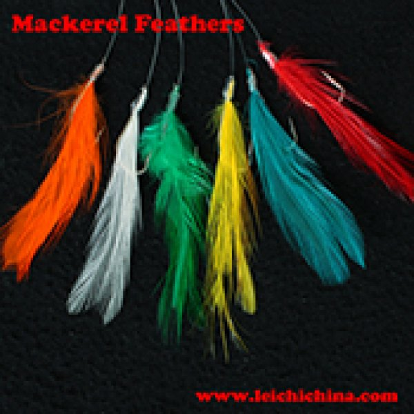 Mackerel Feathers sea fishing rig