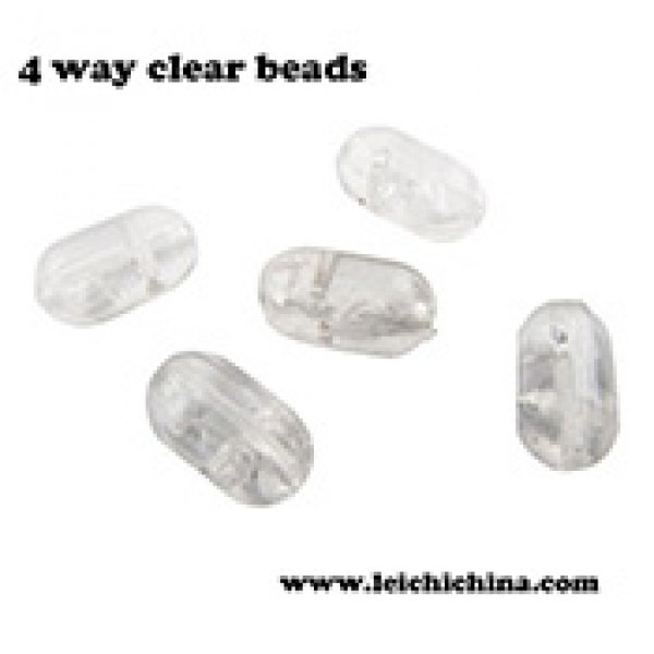 fishing 4 way clear beads