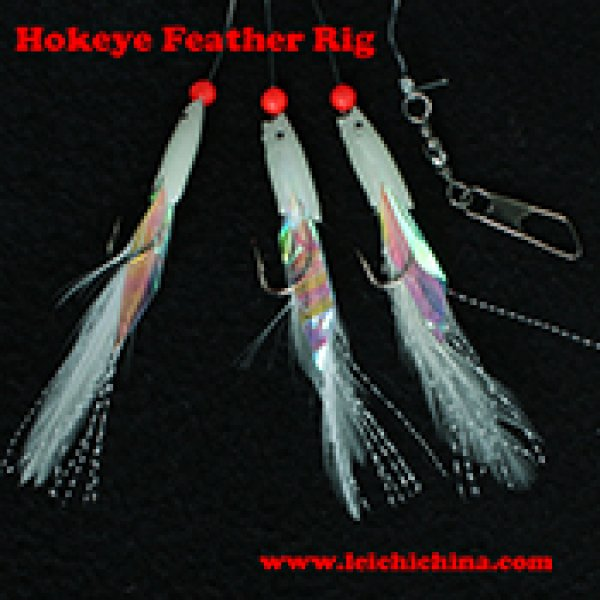 Hokeye Feather fishing sea rig