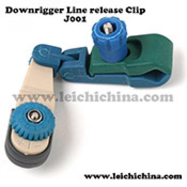 Downrigger line release clip J001