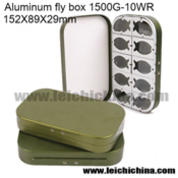 Aluminium fly box 1500 - 10WR