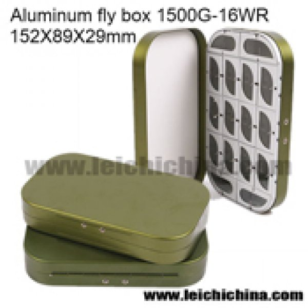 Aluminium fly box 1500 - 16WR