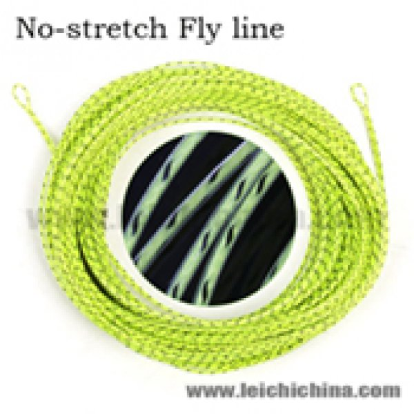no stretch fly fishing line