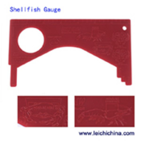 shellfish & crab gauge