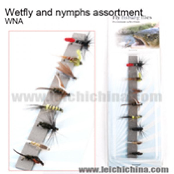 Wetfly and nymphs assortment WNA
