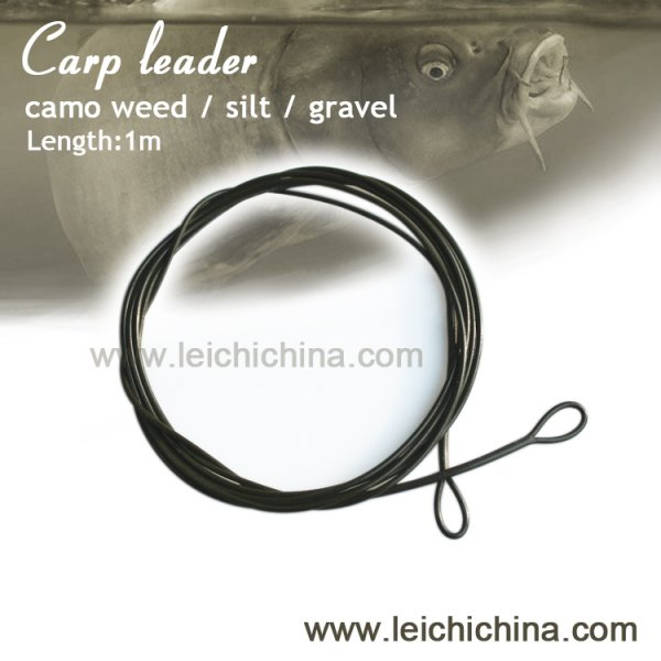 carp fishing poly leader
