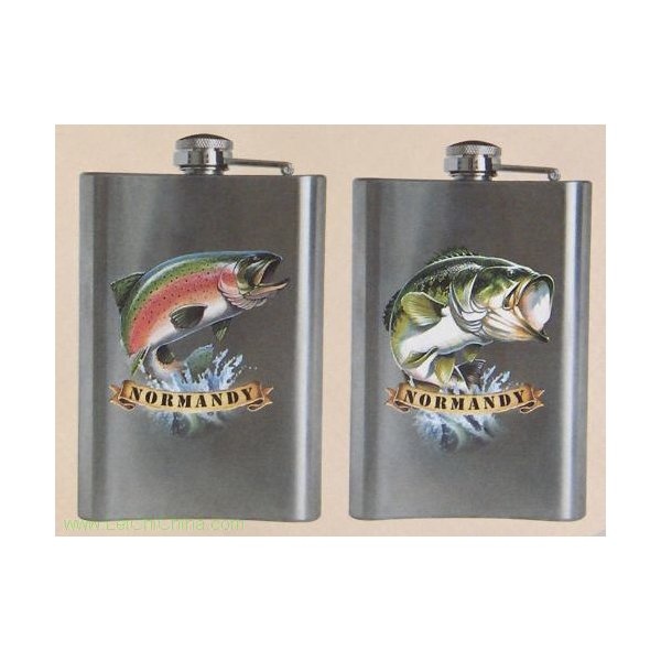 Stainless steel pocket flasks 0701 and 0702