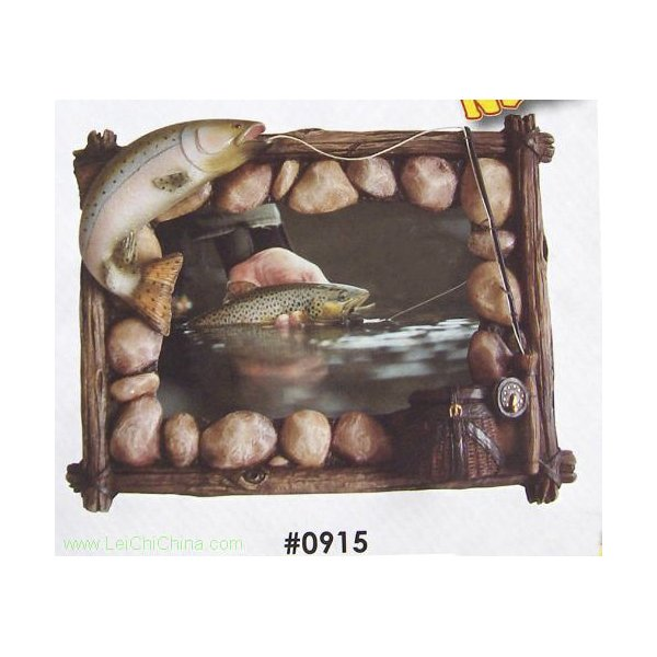 Resin fishing theme picture frames 0915