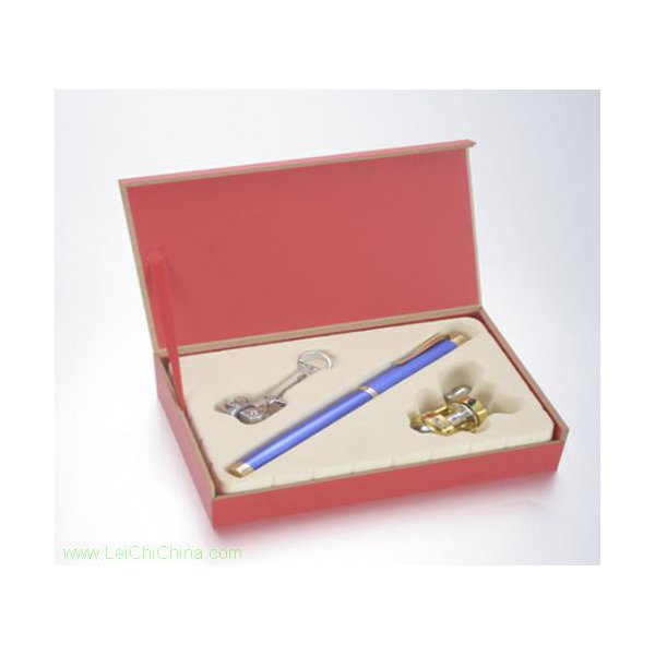 pen-shaped fishing rod set gift box