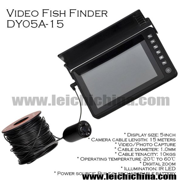 VIDEO FISH FINDER DY05A-15 - 副本