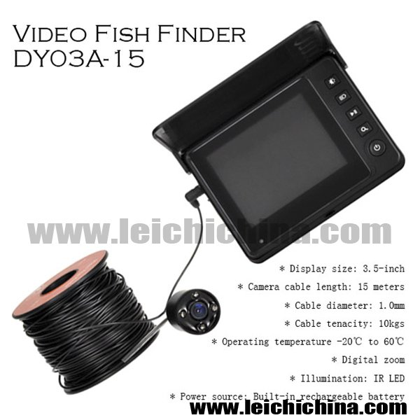 VIDEO FISH FINDER dy03a-15