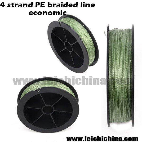 4 strand PE braided line economic