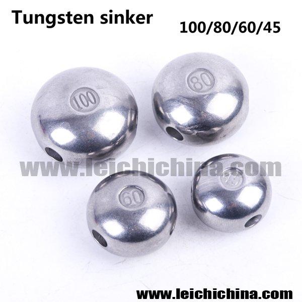 Tungsten sinker