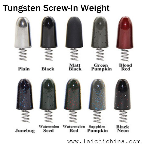 Tungsten Screw-In Weight