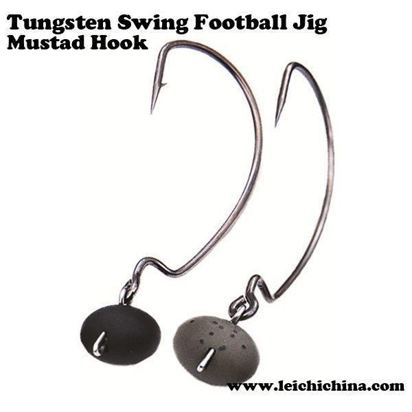 Tungsten Swing Football Jig