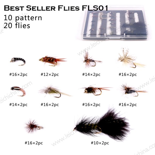 Best selling fly selection FLS01