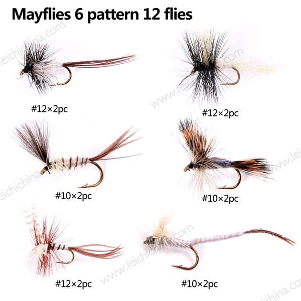 Mayflies selection