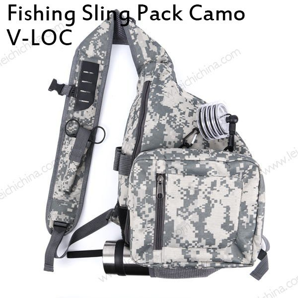 Fishing Sling Pack Camo V-loc