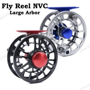 CNC Aluminum Large Arbor Fly Fishing Reel NVC