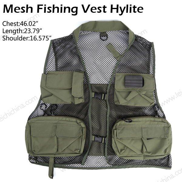 Mesh Fishing Vest Hylite