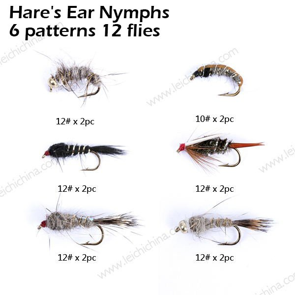Hare's Ear Nymphs