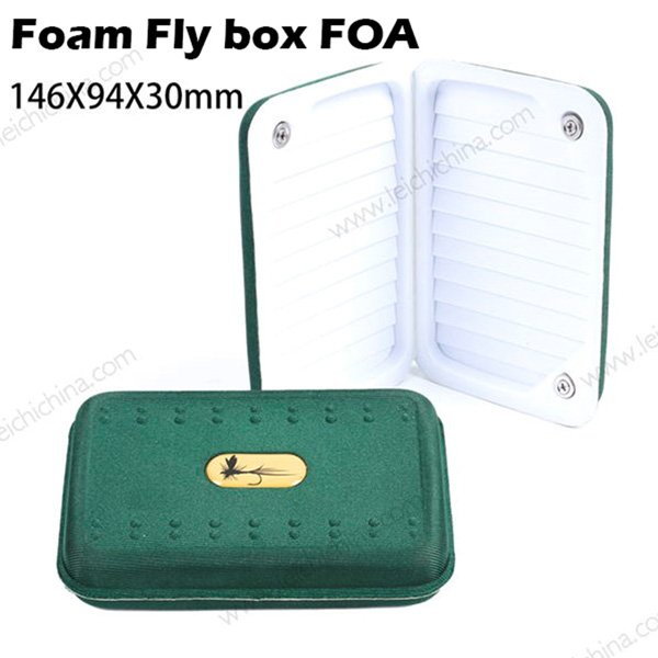 Foam fly box FOA