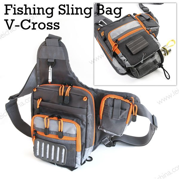 Fishing Sling Bag v-cross