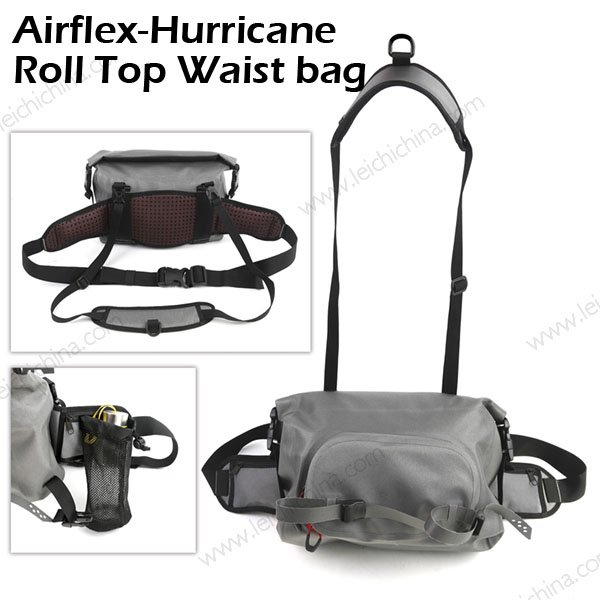 Airflex-Hurricane  Roll Top Waist Bag