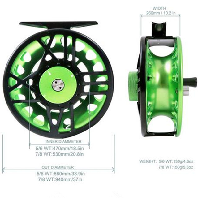 cnc fly reel